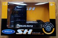 WELLY Volvo FH12 Truck - Dark Blue 1/32 Diecast Model (Brand New In Box)