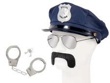 Cop Polizei Fasching Verkleidung (Kv-134) großes Set zum Verkleiden