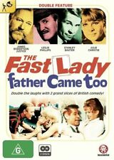 The Fast Lady / Father Came Too 2-Disc Set Region 4 DVD Brand New Sealed