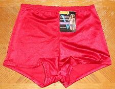 0c7123f98315a Vassarette Womens Undershapers Light Control Boyshort 42001 Icon Red Medium
