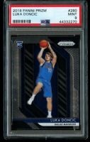 2018-19 Panini Prizm Luka Doncic Rookie PSA 9 Mint RC #280 Dallas Mavericks