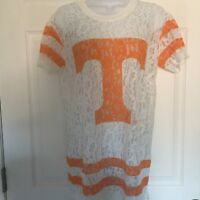 Tennessee Volunteers E5 Official NCAA Women's College Lace Top Retail $36 NWT M