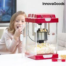 XL Retro Popcornmaschine Popcorn-Maker Popkorn-Automat Rührwerk mit Öl Popcorn