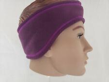 Columbia Fleece Unisex Fast Trek HeadBand headring Purple L/XL NWT Ear Winter