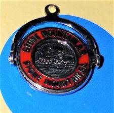 K67 Stone Mountain Spinner Sterling Silver Vintage Bracelet Charm