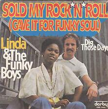 "Linda & the Funky Boys - sold my rock'n'roll 45"""
