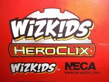 HEROCLIX Missing Character cards? FEAT CARDS? BFC Cards? ANY 9 Cards Your Choice