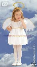 NATALE COSTUME ANGIOLETTO bambina 2-3 anni 104cm nativita' carnevale