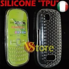 Cover Case Gel Silicone TPU Clear for Nokia Asha 200/201