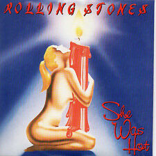 ★☆★ CD SINGLE The ROLLING STONES She was hot 2-track CARD SLEEVE    + RARE+  ★☆★