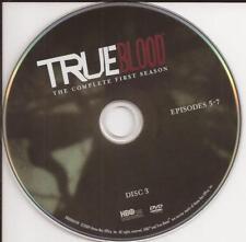 True Blood (DVD) Season 1 Disc 3 Replacement Disc U.S. Issue