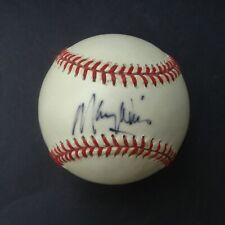 MAURY WILLS  signed Baseball Autographed COA