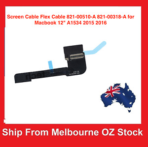 """Screen Cable Flex Cable 821-00510-A 821-00318-A for Macbook 12"""" A1534 2015-2017"""