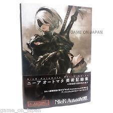 NieR Automata World Guide Art Illustrations Art book Original Japanese Pre-Order