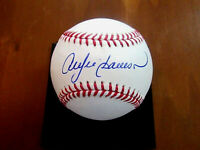 ANDRE DAWSON ROY EXPOS CUBS HOF SIGNED AUTO OML BASEBALL JSA & TRISTAR AUTHENTIC