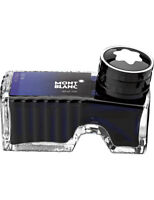 Montblanc Fountain Pen Ink Pen Royal  Blue Ink Inkwell New In Box 60ml
