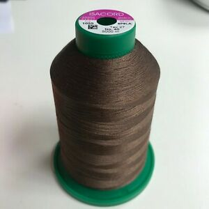 ISACORD EMBROIDERY THREAD COLOUR 1055 LESS THAN 1/2 PRICE NEW/USED -  5000M