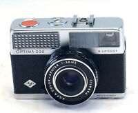 Vintage AGFA OPTIMA 200 35mm Film Camera COLOR-APOTAR 2.8 42mm Lens AS IS
