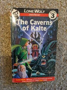 Lone Wolf - Joe Dever - The Caverns of Kalte