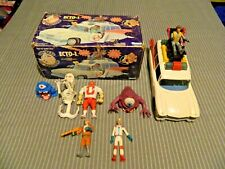 The Real Ghostbusters ECTO-1 Vehicle Kenner with Action Figures Original Box