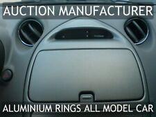 Toyota Celica 99-06 mk7 Aluminium Air Vents Surrounds Chrome Rings X 4 New