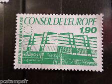 FRANCE 1986, TIMBRE SERVICE 93, CONSEIL EUROPE, oblitéré, VF STAMP