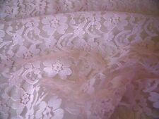 Ligero Floral nailon encaje- pink-dress / DE BODA Tejido