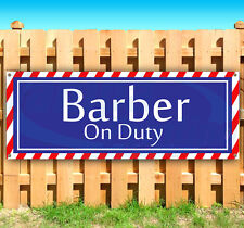 Barber On Duty Advertising Vinyl Banner Flag Sign Many Sizes Available Usa