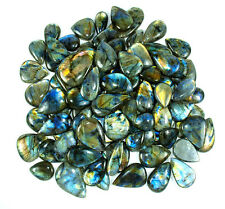 5000Ct/90Pcs+Top Color Untreated Multi Shine Exclusive Labradorite MIix Cabochon