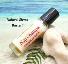 Essential Oil Roll On / NAG CHAMPA / Uplifting / Aromatherapy