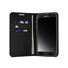 vest Anti Radiation Wallet Case for Samsung Galaxy S8 - Black