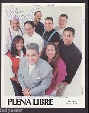 VINTAGE PROMO PHOTO / PLENA LIBRE / SIGNED / PUERTO RICO / 1990's #2