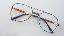 Meitzner Kinderbrille Jungenbrille 70er gold blau Pilot günstig neu size K
