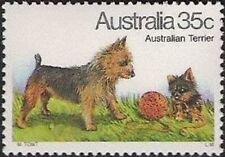 Australia - 1980 - Australian Dog - Australian Terrier - Mnh Stamp - Sc. #729