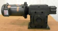BALDOR AC MOTOR VM3611T, 3 HP, 1725 RPM, WINSMITH GEAR REDUCER