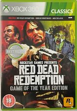 Red Dead Redemption-Game of the Year Edition (Microsoft Xbox 360) Preowned.