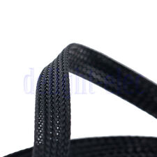 10m 10mm Expandable PET Braided Cable Wire Sleeving Good Flexibility Elastic DE