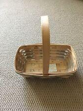 Longaberger Heartland Chores Basket with Sage Shoestring Splints ~ Vintage ~