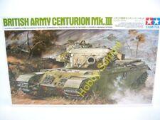 Tamiya 1/35  CENTURION MK III  British Army  Main Battle Tank Display Kit  25412