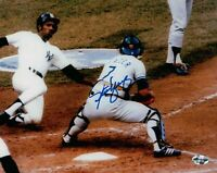 Steve Yeager Signed 8X10 Photo Autograph LA Dodgers Play at Home Auto COA