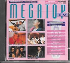 V/A - Megatop TV CD Album 14TR France 1990 Technotronic Rocco Granata Mirage