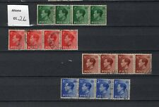A rare 4 quadoubles of Edward Viii stamps, used N/H, .Altona #0126.