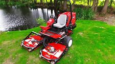 Toro Groundsmaster 3505-D kubota diesel rotary tractor ride on lawn mower 3500 D