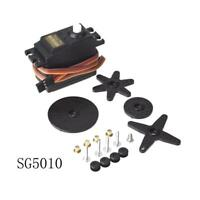 HK- RC Model Standard Servo Set Double Bearing Fit for RC Airplane Car SG5010.