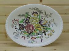 """Johnson Brothers Garden Bouquet  9¾"""" Oval Vegetable Bowl - Windsor Ware England"""