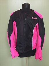 Scorpion EXO Verano Women's Motorcycle Jacket - Size Large - Black & Pink
