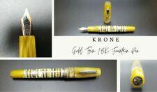 KRONE Gold Trim 18K Fountain Pen
