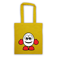 More details for dizzy yolk folk retro 80's gamer tote bag different colours spectrum zx shopper