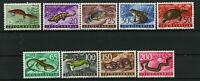 Yugoslavia 1962 ☀ Fauna- Amphibians- Reptiles Mi 1007-1015 ☀ Mint never hinged**