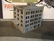 HO Scale Building Walthers Williams Industrial Electric Building Built Weathered